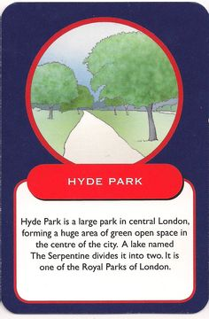 Flowers were first planted in Hyde Park in 1860 by the landscape gardener William Nesfield.