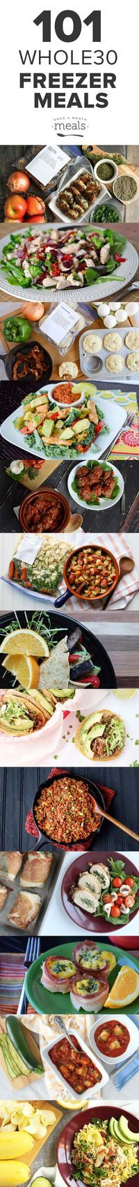 We have compiled 101 Whole30 compliant recipes from which to choose, making it simple for you to get started, keep going, or finish up – wherever you are on the journey.