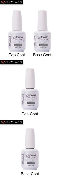 [Visit to Buy] 15ml Arte Clavo High Quality 1 x  No Wipe Top coat&Primer Base Coat UV Gel Nail Soak Off Gel Polish Nail Gel Art Builder Gel Set #Advertisement