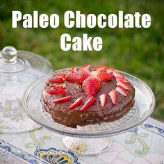 Birthday Chocolate Cake Recipe (Gluten Free, Paleo) http://paleomagazine.com/paleo-chocolate-birthday-cake-recipe/ #paleo #gf #glutenfree #recipe #diet
