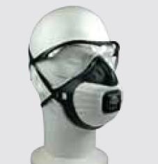 Masque respiratoire et oculaire - Code produit: 6102363 - Cliquez sur la photo pour voir la fiche produit