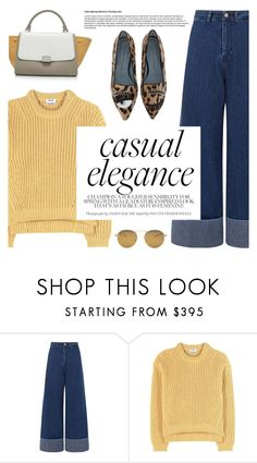 """""""Casual Elegance"""" by reebonz ❤ liked on Polyvore featuring Sea, New York and Acne Studios"""