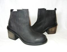 Urban Outfitters Silence & Noise Women's Leather Ankle Boot MSRP $99 size 7 in Clothing, Shoes & Accessories, Women's Shoes, Boots | eBay