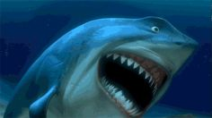 shark gif | ... The Finding Nemo Sequel That I Had To Celebrate With Finding Nemo GIFS