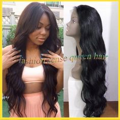 Find More Wigs Information about 2014 Fashionable long black color body wave glueless full lace wig virgin brazilian hair wigs for black women with baby hair,High Quality Wigs from Fashion sense Human hair store on Aliexpress.com