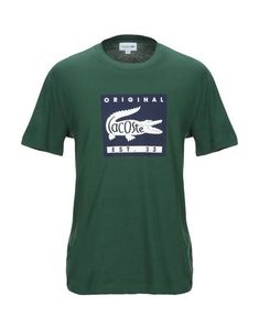 Lacoste T-shirt In Green Lacoste T Shirt, Lacoste Polo, Tees, Shirts, Streetwear, 1, Short Sleeves, Mens Fashion, Classic