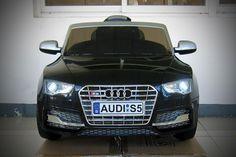 Audi S5 Sport 12V Electric Kids Ride-On Car with Parental Remote   Black