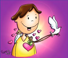 El Espíritu y el Amor de Dios te guiarán Jn 14,15-21 (PAA6-14) Jesus Artwork, Kids Church, Corpus Christi, Bible Stories, Religious Art, Bible Scriptures, Gods Love, Hello Kitty, Faith