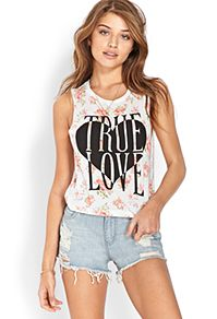 GRAPHIC TEES from Forever 21  True Love tees and more @ forever21.com
