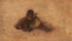 Duckling by Bruno Liljefors | Art Posters & Prints