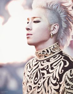 I like that hair too much #BIGBANG #TAEYANG ♚