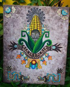 Arte Do Galo, American Horror Story Costumes, Aztec Drawing, Aztec Tattoo Designs, Graffiti, Aztec Culture, Mexico Art, Aztec Art, Chicano Art