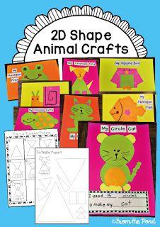 2D Shape Animal Crafts
