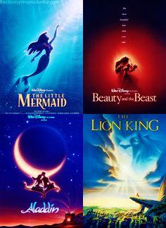 Classic Disney Posters