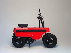 Honda Motocompo, a tiny folding scooter, 1981-1983