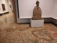 Terrazzo floor in Ca' Pesaro, Venice