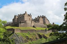 Edinburg Castle back