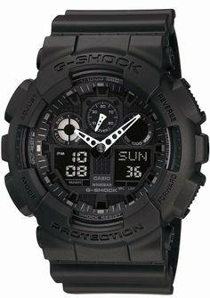 CASIO 腕時計 G-SHOCK ジーショック STANDARD GA-100-1A1JF メンズ