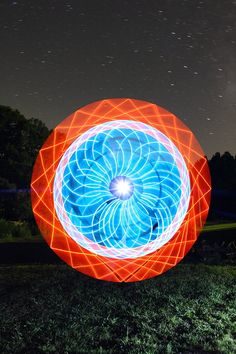 Super Rad Light Painting by Dennis Calvert