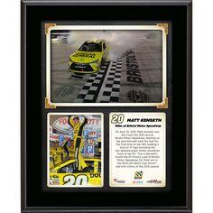 Matt Kenseth Fanatics Authentic 2015 Food City 500 at Bristol Motor Speedway Race Winner 10.5'' x 13'' Sublimated Plaque Collage - $29.99