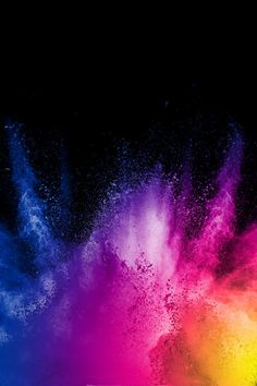 Color powder explosion cloud on black background Freeze motion of black color powder - Black Things Black Backgrounds, Wallpaper Backgrounds, Colorful Backgrounds, Photo Backgrounds, Iphone Wallpapers, Fantastic Wallpapers, Pretty Wallpapers, Apple Wallpaper, Galaxy Wallpaper