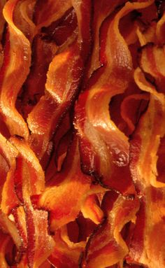 Delicious Bacon.  This one would be good for my phone wallpaper.