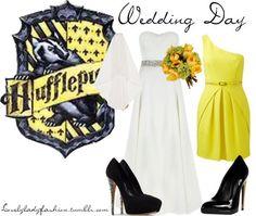 Hufflepuff Wedding Day