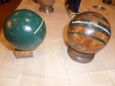 reclaimed crafts: croquet sets