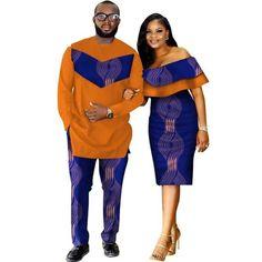 African Style Clothing Family Couple Man Shirt-Pnts Woman Dress Dashik – Afrinspiration