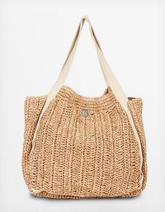 Straw Beach Bags Accessories Handbag Fashion Knitted Knit