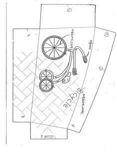 [转载]单车恋人零钱包1:1图纸