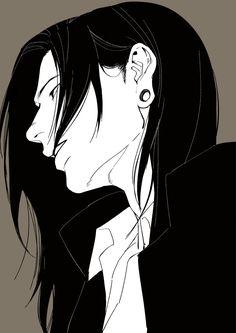 Down Hairstyles, Anime Hairstyles, Photoshop Face, Drawing Studies, Kaizen, Ragnar, Anime Love, Black Hair, Otaku