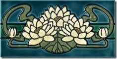 Art Nouveau Tile..