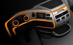 DAF XF - Interior keylines