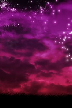 """the silence of a falling star lights up a Purple Sky"""