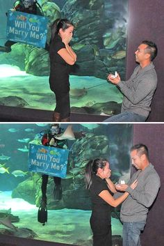 24 Creative Proposal Ideas ❤ See more: http://www.weddingforward.com/creative-proposal-ideas/ #wedding #proposal #ideas