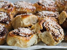 Danish Food, Bagel, Baking Recipes, Sandwiches, Bread, Desserts, Recipes, Cooking Recipes, Tailgate Desserts