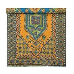 Turkish Pattern Reversible All-Weather Floor Mat, 6x9, Aqua, for the living room...I already have an outdoor rug in the living room and like it a lot...I just want this one because the colors are so bright.