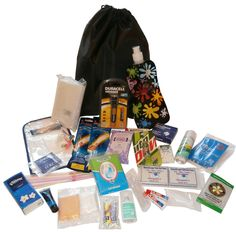 Music Festival standard survival pack (Kit 3)+(choice of bag) essential camping