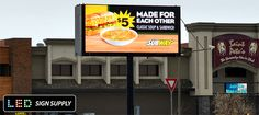 Many Types of Affordable LED Billboards - LED Sign Supply