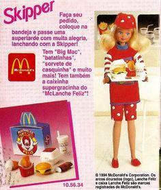 Ana Caldatto : Coleção Bonecas Barbie 1993 e 1994