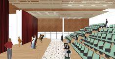 Coliving: Arca de NOE - Nuevas maneras de habitar. on Behance My Works, Behance, Architecture, Illustration, Decks, Buildings, Urban, Arquitetura, Illustrations