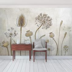 East Urban Home Growing Old Semi-Gloss Wallpaper Roll