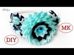 Бантики, МК / Набор к 1 сентября / Зефирка, МК / DIY Ribbon School Bows - YouTube