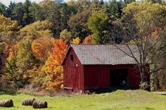 19 Beautiful Barns to Get You In the Fall Spirit  - CountryLiving.com
