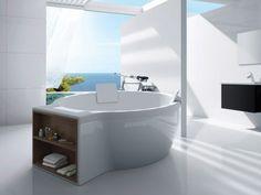 Freestanding bathtub CIRCULAR by ROCA