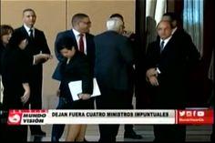 4 funcionarios quedaron fuera de la reunión de Consejo de Gobierno con el Presidente Danilo Medína por impuntuales