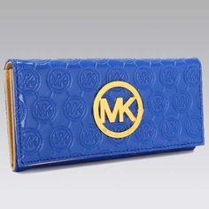 MICHAEL Michael Kors Jet Set Continental Dodger blue Wallet