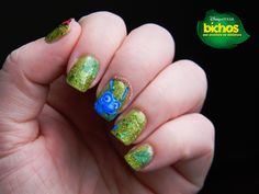 Toxic Vanity: My Favourite Disney Classics : 34# Bichos / A Bug's Life nail art