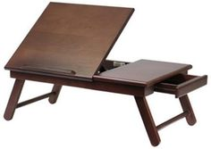 Lap Tray Drawer TV Trays Table Home Entertainment Sofa Tables Relax Wooden Gift
